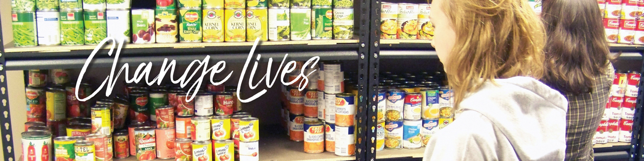 Rescue Mission Food Pantry